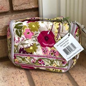 Vera Bradley Mini Hanging Travel Case